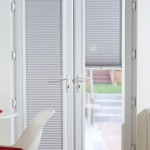 Door Pleated blinds